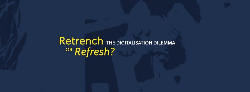ROHEI Blog Retrench or refresh