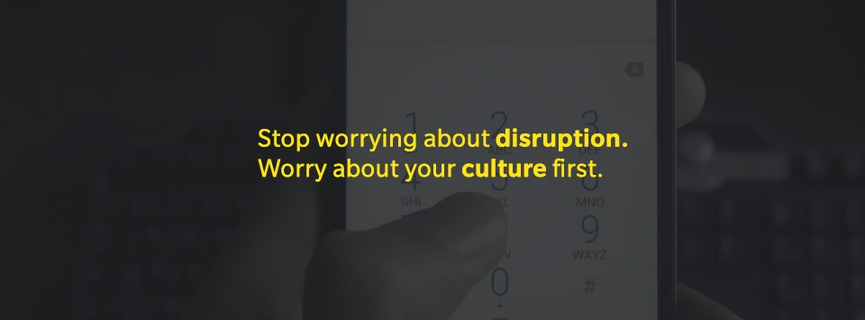 ROHEI Blog Stop worrying about disruption